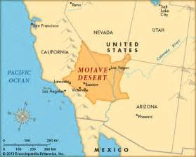 mojave desert california map mojave desert encyclopedia children s homework