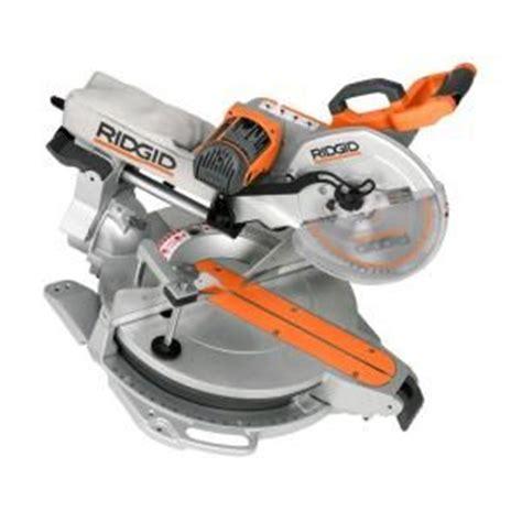 ridgid 15 12 in sliding compound miter saw with