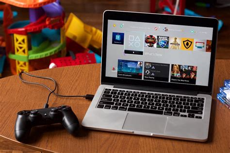Play On playstation 4 from the console to your mac