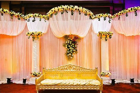 Christian Wedding Reception Decorations by Wedding Backdrops 25 Stage Sets For A Tale Wedding