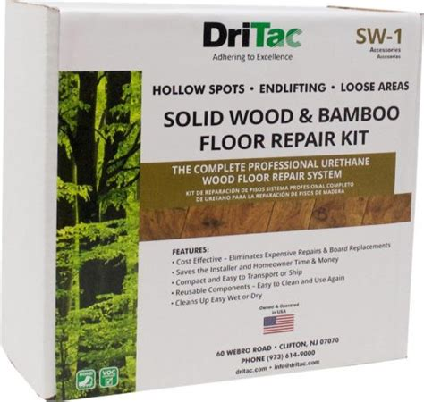 Engineered Wood Flooring Repair Kit   DriTac