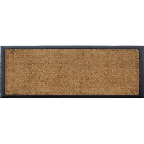 Solemate Doormats solemate door mats rubber and coir plain door mat reviews temple webster