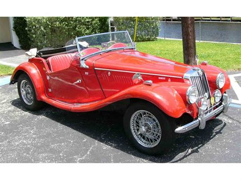 classic mg for sale 1955 mg tf 1500 for sale classiccars cc 976987