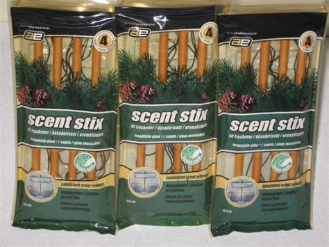 pine scented l oil 12 auto expressions pine scented 3d scent stix home car