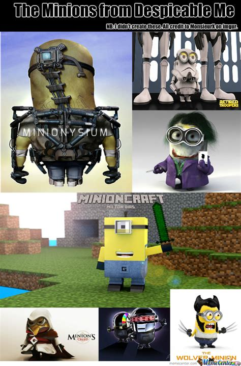 the minions of despicable me by lucyholland96 meme center