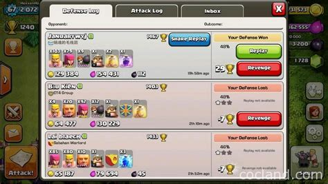 coc funniest attacks trion excellent town hall 7 farming base clash of clans