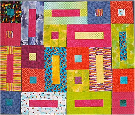 Simple Patchwork Designs - 20 easy quilt patterns for beginning quilters