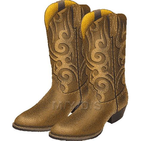 cowboy boot illustrations and clip art 1346 cowboy boot カウボーイブーツの画像 原寸画像検索