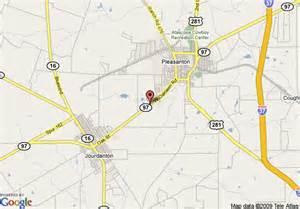 map of 8 motel pleasanton pleasanton