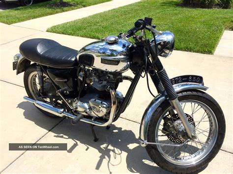Harley Davidson Toaster 1972 Triumph Bonneville Motorcycle 650