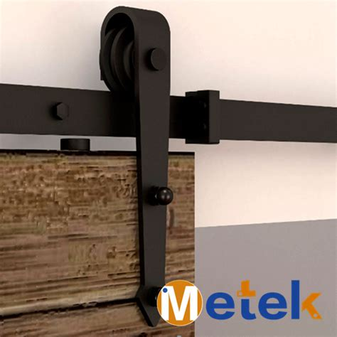 Hanging Barn Door Hardware Global Free Shipping 4 9ft 6ft 6 6ft Interior Hanging Barn Sliding Door Hardware In Doors From