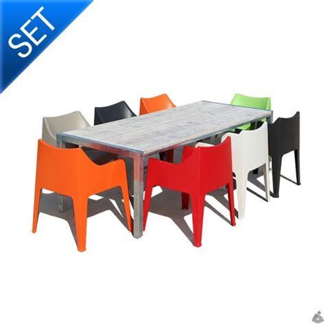 gekleurde plastic stoelen gekleurde stoelen mooie kunststof design stoelen