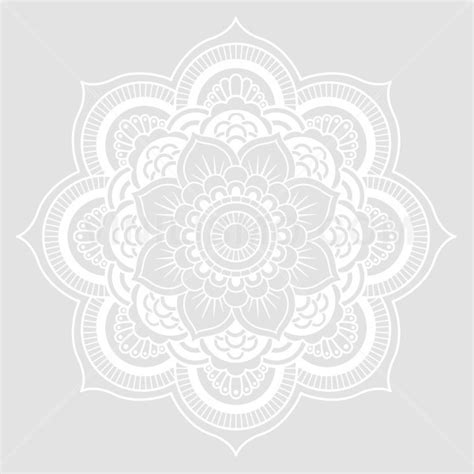 The Home Decor Store wall decal flor mandala