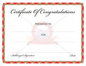 congratulations template congratulation certificates certificate templates