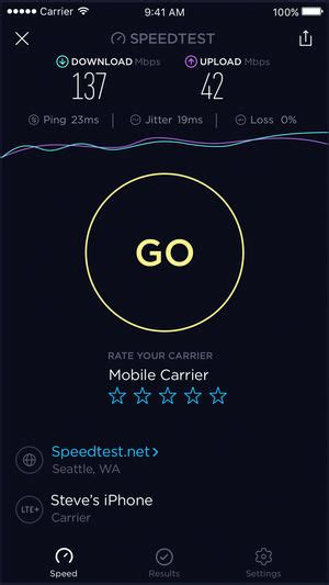 adsl test speed speedtest by ookla on the app store