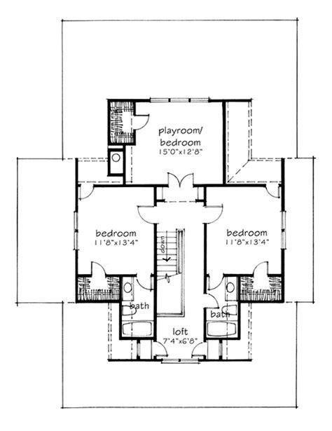 four gables house plan