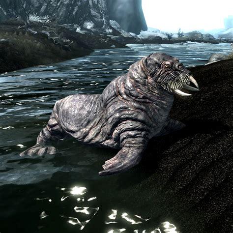 Sea Creatures of Skyrim? : teslore Giant Sea Monster Skyrim