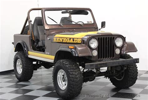 cj jeep wrangler 1982 used jeep wrangler cj7 renegade 4x4 at eimports4less