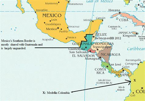 map of the country of mexico borderland beat the changing mexican war brings new