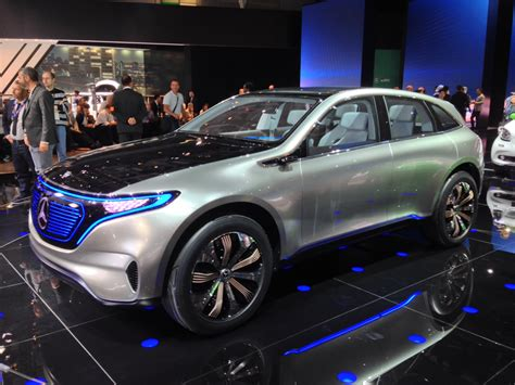 mercedes concept mercedes eq concept previews all electric models