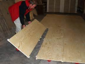 Portable Floors by Plywood Floor Temporary Modular Portable Flooring