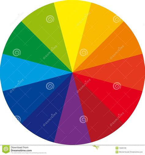basic color transition for your video royalty free basic color wheel stock vector image of colour design