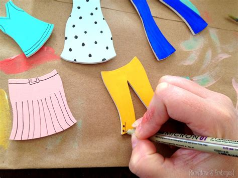 How To Make Paper Dolls At Home - diy wooden paper dolls a tutorial reality daydream