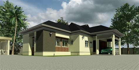 Duplex Plans by Home Plans For Bungalows In Nigeria Properties 1