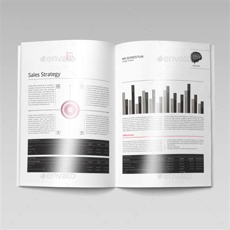 Mini Business Plan Template by Mini Business Plan Template By Keboto Graphicriver