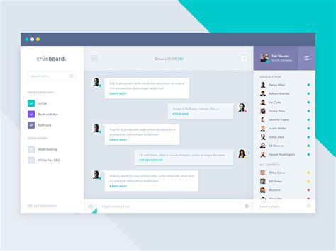 chat rooms for only chatroom view by zeki dribbble dribbble