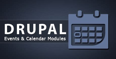drupal calendar modules premium templates