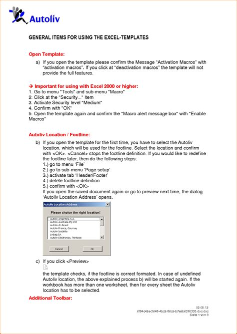 5 user manual template authorizationletters org