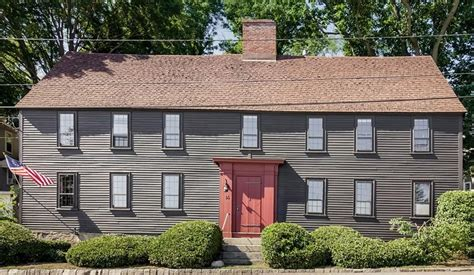 here are the oldest houses for sale in massachusetts