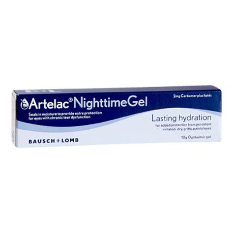 artelac nighttime gel eye care   vision direct uk