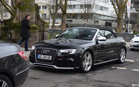 Audi Rs5 Cabrio by Audi Rs5 Cabriolet B8 13 Mars 2018 Autogespot