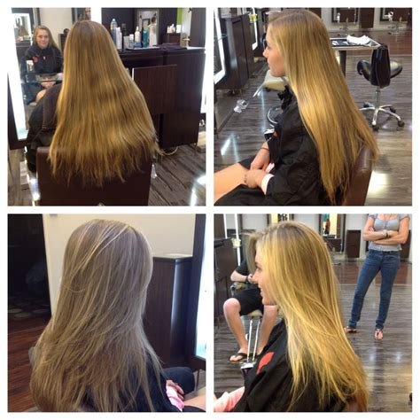 hair cut steps after cancer long layered haircut with sun kissed highlights dres hair