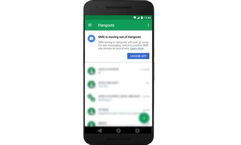 android hangouts hangouts for android will lose sms integration on may 22