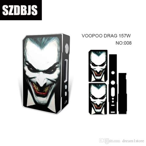 Drag Mod Resin Cover By Voopoo Tech skin cover for voopoo drag 157w resin version tc box mod ecig mods dual 18650 battery vape