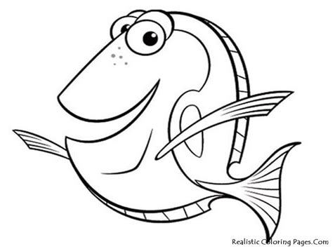 little nemo coloring pages free printable fish coloring pages kid crafts