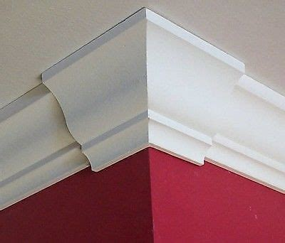 How To Cut Crown Molding Outside Corners For Cabinets by How To Cut Crown Molding For An Outside Corner Ebay