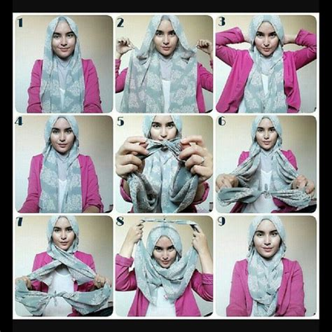 hijab fashion step by step 43 best hijab scarf how to images on pinterest hijab