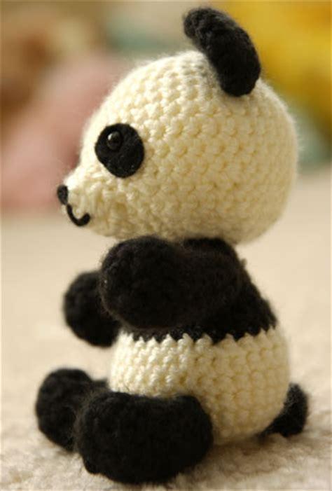 amigurumi panda panda amigurumi crochet pattern free angie s