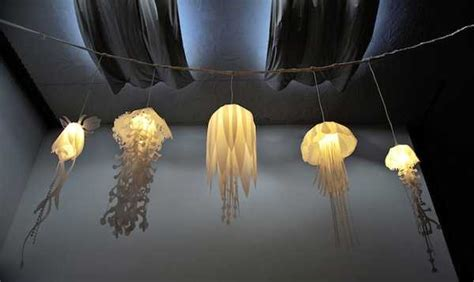 Unique Hanging Light Fixtures Unique Lighting Fixtures Inspired By Jellyfish From Design