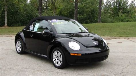 bug volkswagen 2007 2007 volkswagen new beetle convertible pictures
