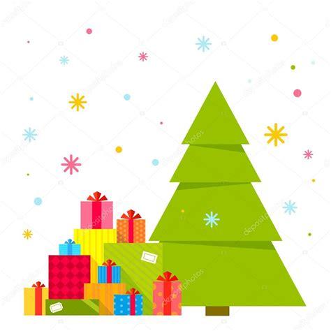 imagenes vectoriales de navidad ilustraci 243 n de vector del 225 rbol de navidad y montones de