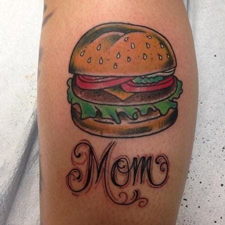 cheeseburger tattoo s burger by justin martinez tattoonow