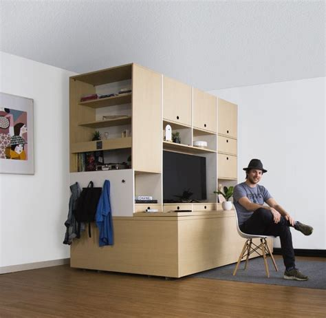 ori systems this robotic furniture system will transform your entire apartment