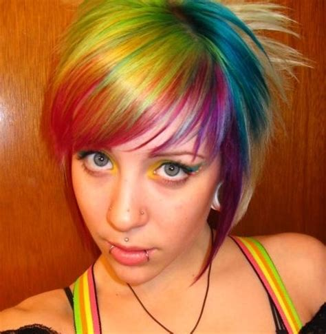 cool colored hair hair cool hair color ideas images socialbliss