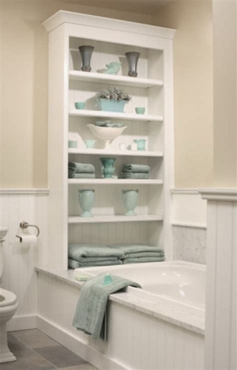 bathtub storage 53 bathroom organizing and storage ideas photos for