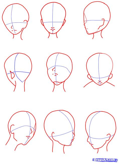 create drawings how to sketch an anime step by step anime females